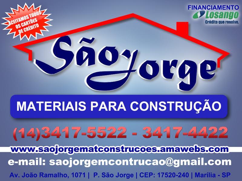 São Jorge - Material para construção