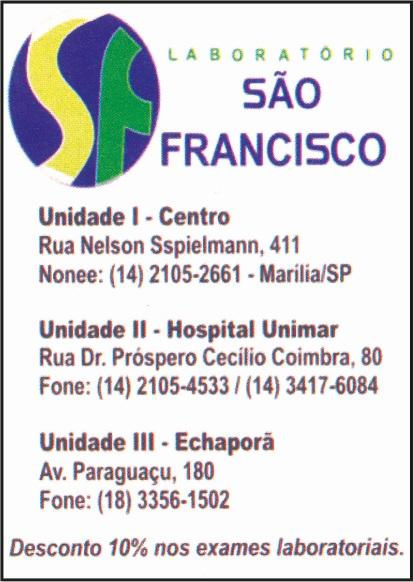 Laboratório São Francisco de Marília