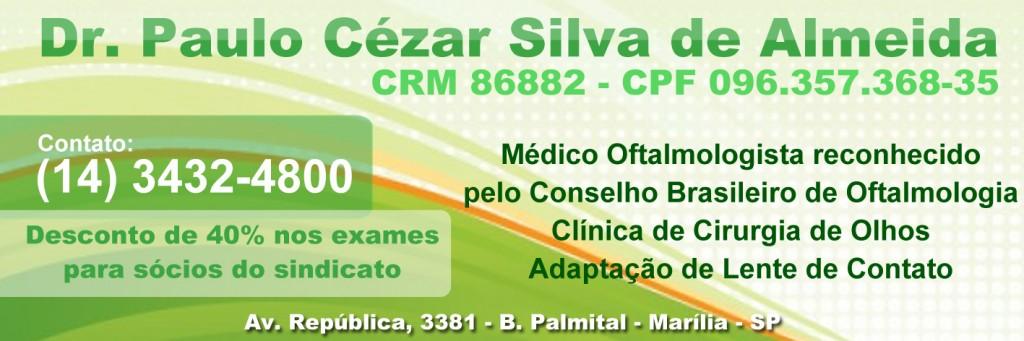 Dr. Paulo Cézar Silva de Almeida - Oftalmologista