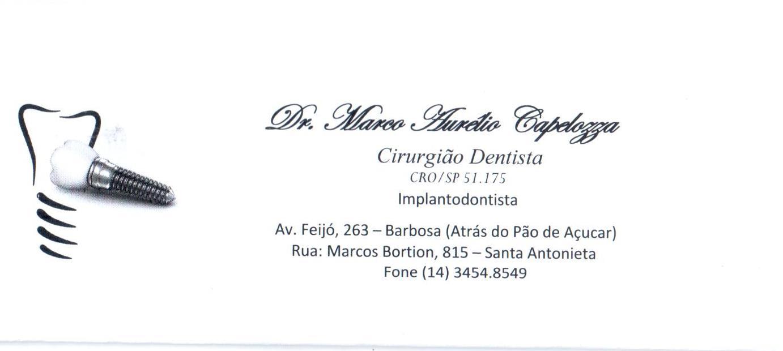 Dr. Marco Aurélio Capelozza
