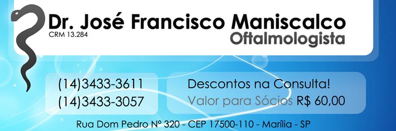 Dr. José Francisco Maniscalco - Oftalmologista