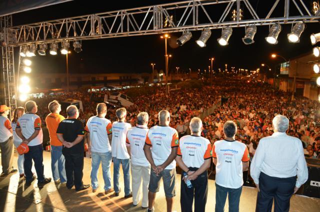 50 mil pessoas na festa do 1 de maio em Marília