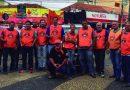 Manifestação contra Reformas Trabalhista e Previdenciária