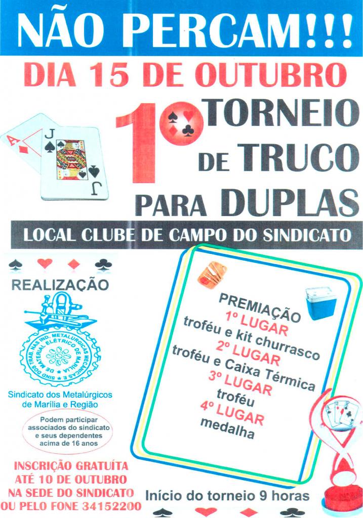 CAMPEONATO DE TRUCO
